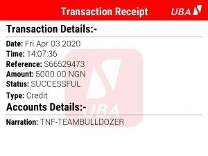 Team bulldozer income program review