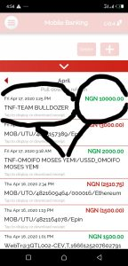 Team bulldozer income program